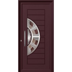 Πόρτες κύριας εισόδου Inox Alfa 6000